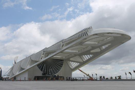 Museu do Amanhã - local de nossos trabalhos com intérpretes Rio de Janeiro - RJ