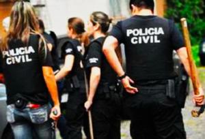 Foto de policiais durante o curso onde fizemos tradução simultânea na cidade de Goiânia