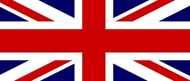 Bandeira britânica - ilustração sobre tradução simultâne inglês
