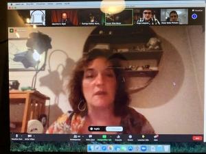 Zoom simultaneous translation meeting